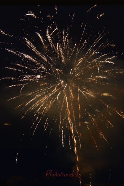 Fireworks at Lake Lure